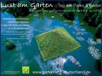 Plakat Lust am Garten