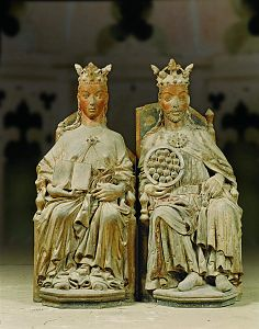 Kaiser Otto und seine Frau Editha