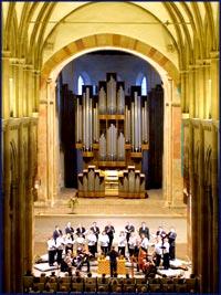 Jehmlich-Orgel im Kloster Unser Lieben Frauen ©A Lander