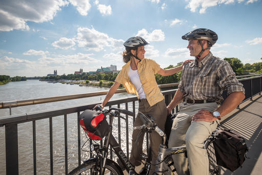Interner Link: By Bike along the Elbe