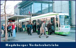 Magdeburger Verkehrsbetriebe, ©MMKT
