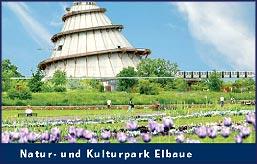 Jahrtausendturm im Elbauenpark, ©MMKT