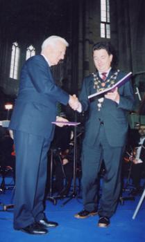 Verleihung des Kaiser Otto Preises