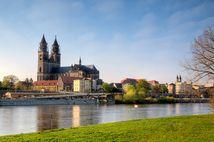 Blick auf den Magdeburger Dom