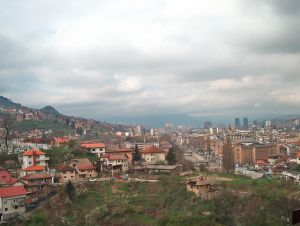 Blick über Sarajevo