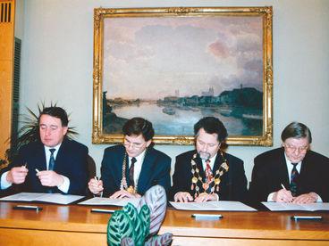 Städtepartnerschaftsvertrag Braunschweig Magdeburg neu