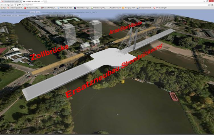 Externer Link: 3D-Modell des neuen Brückenzuges