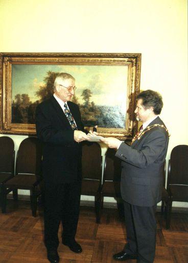 Ehrenring Konrad Mieth (Fotograf Werner Klapper)