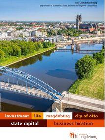 Ansicht Flyer- Wirtschaftsstandort Ottostadt Magdeburg - Englisch