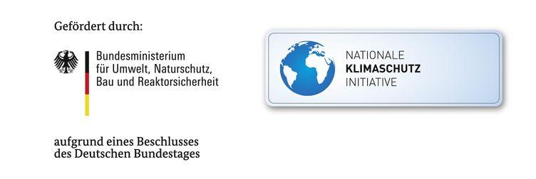 Logo der Klimaschutzinitiative und des Bundesministeriums für Umwelt, Naturschutz, Bau und Reaktorsicherheit