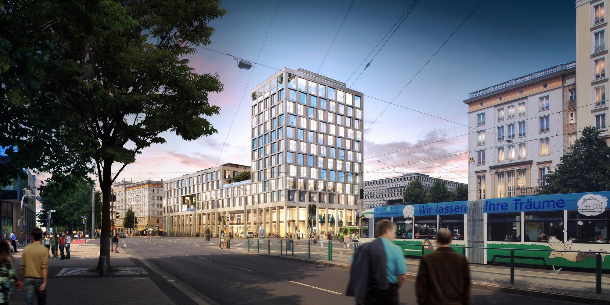 Visualisierung Neubau Blauer Bock - Quelle: SWM