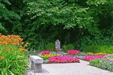 Kindergemeinschaftsanlage auf dem Westfriedhof