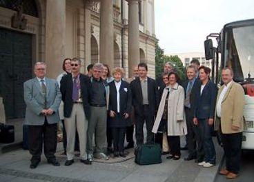 Abfahrt der Magdeburger Delegation nach Nashville