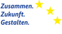 Logo Zusammen Zukunft Gestalten ESF Claim