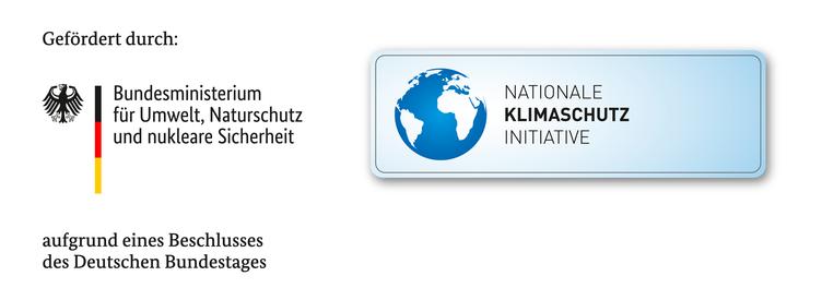 Logo Klimaschutzinitiative quer