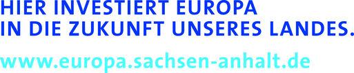 """Externer Link: Signet-Paar """"Hier investiert Europa"""""""