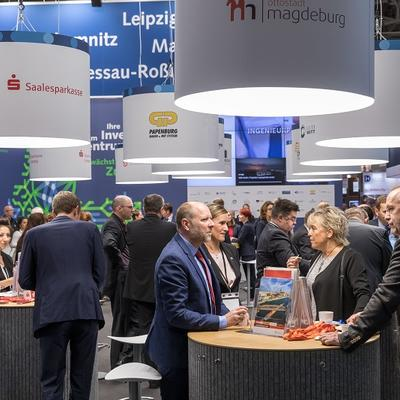 Expo Real 2018, Stand der Ottostadt Magdeburg