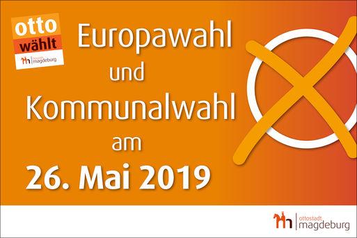 Europa- und Kommunalwahl am 26. Mai 2019