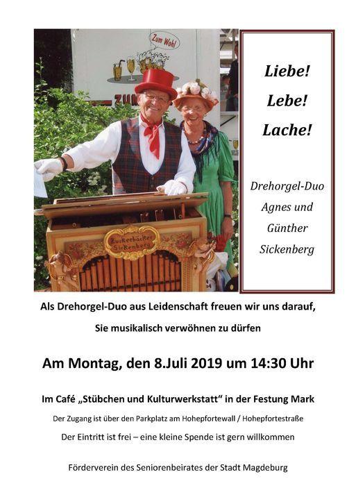 Drehorgel- Duo- Sickenberg