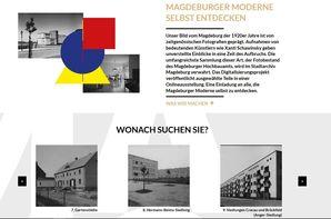 Externer Link: screenshot magdeburger moderne
