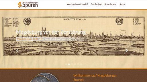 Externer Link: Magdeburger Spuren