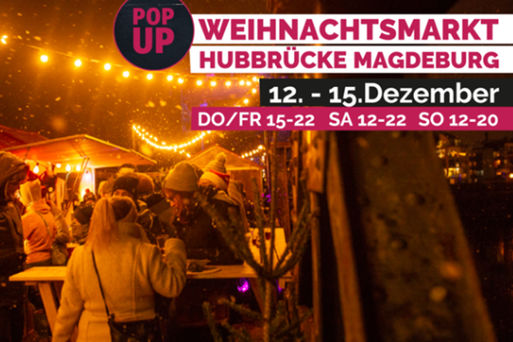 Grafik POP UP! Weihnachtsmarkt © Pop Up! Magdeburg