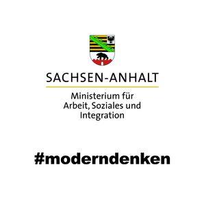 Logo Ministerium für Arbeit, Soziales und Integration Sachsen-Anhalt