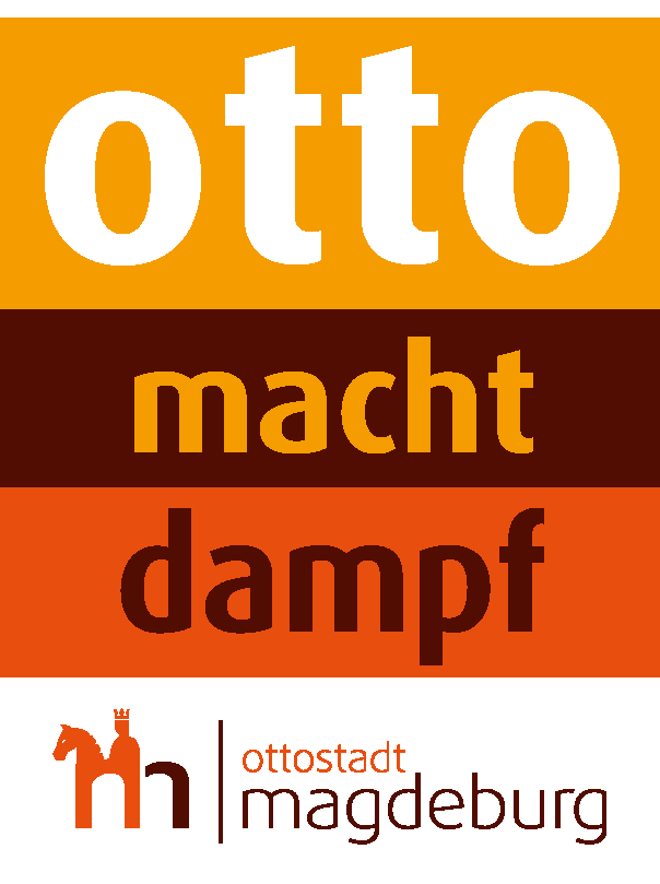 Technikmuseum Logo Otto macht Dampf