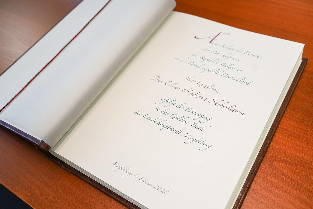 Goldenes Buch der Landeshauptstadt Magdeburg