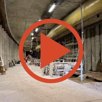 Video: Wetter im Tunnel