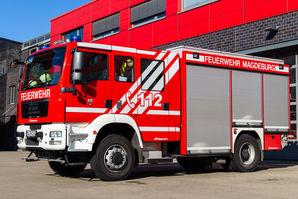 Tanklöschfahrzeug Feuerwache Nord