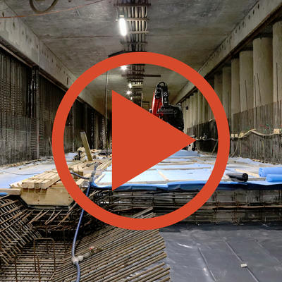 Video: Betonage Tunnelsohle