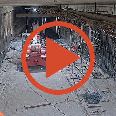 Video: Tunnel-Webcam
