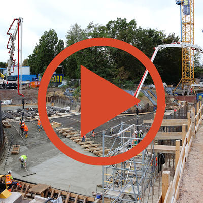 Video: Beton für Trog 2
