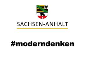 Logo Sachsen-Anhalt #moderndenken