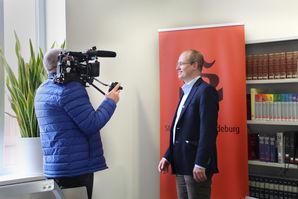 PD Dr. Christoph Volkmar, Leiter des Stadtarchivs, im Interview