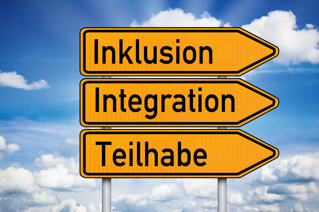 Inklusion-Teilhabe-Integration