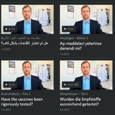 Videos Impfwissen (Bundesregierung)