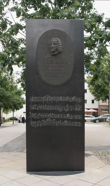 Stele Georg Philipp Telemann Foto Ralph-J Reipsch