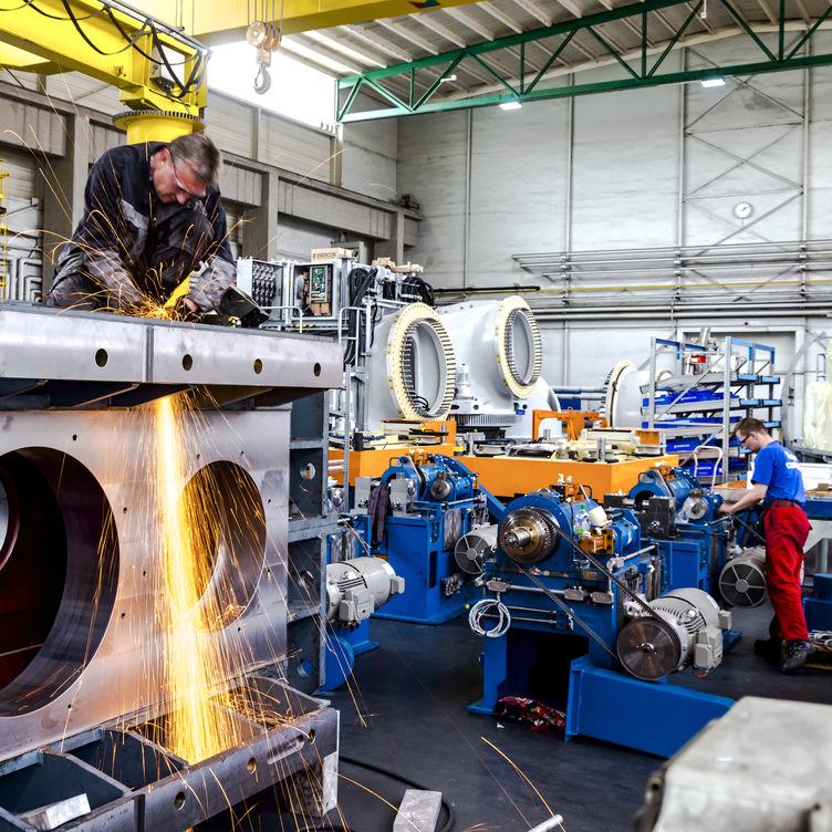 Interner Link: Leistungsstark: Maschinen- und Anlagenbau