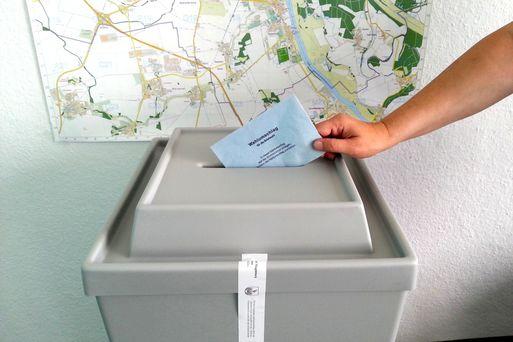Neue Wahlurne