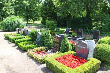 Wahlgrabstätten für Urnenbeisetzungen (AW)
