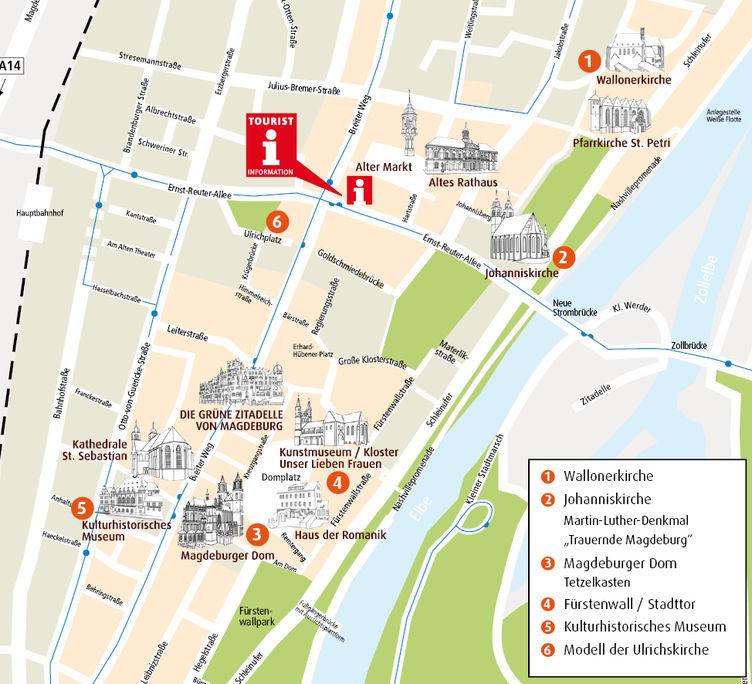 Stadtplan Luther