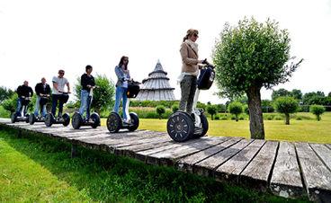 Segwayfahren im Elbauenpark