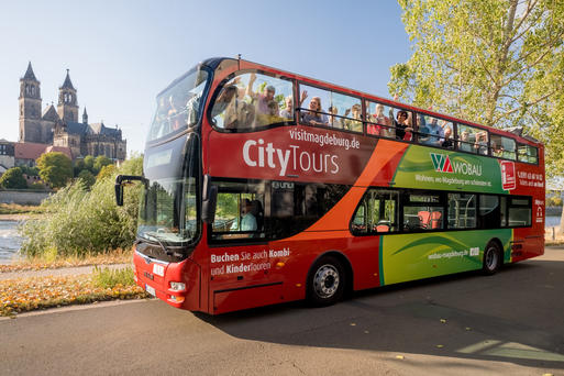 Interner Link: Guided City Tour on a Double-Decker Bus - 2 Hours