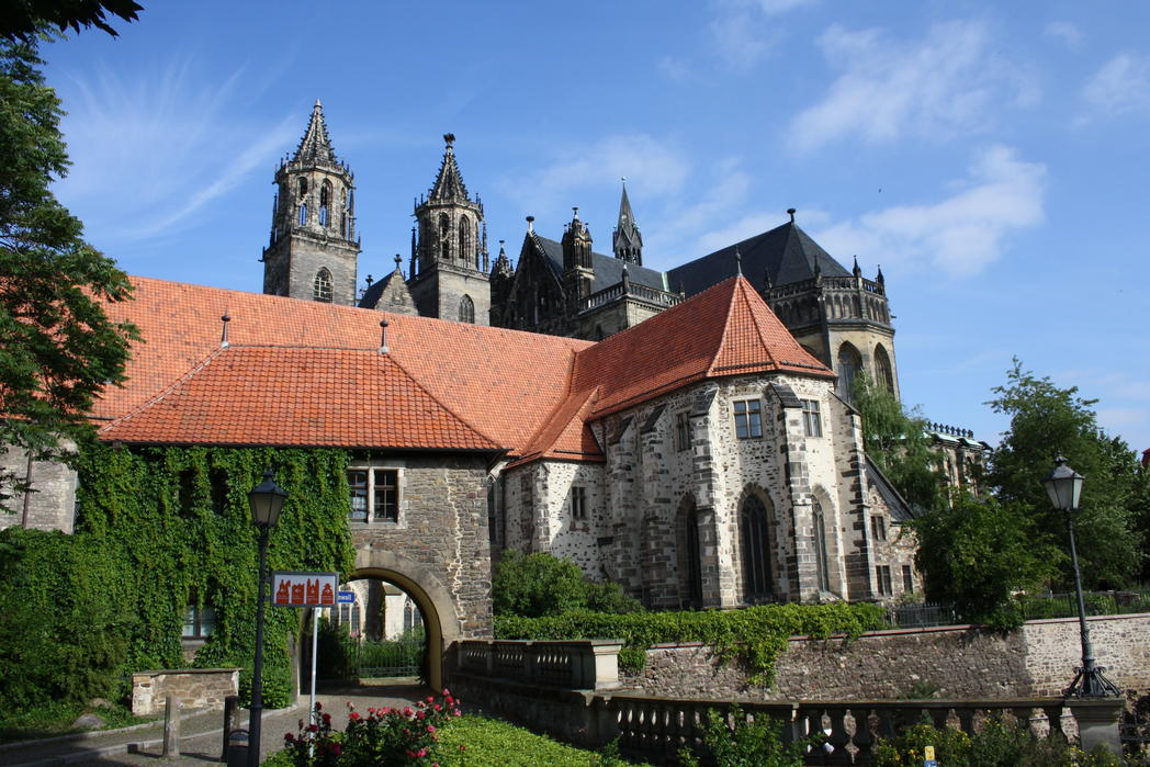 Interner Link: Magdeburg Cathedral, dedicated to St. Maurice and St. Catherine