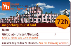 Tourist Card 72 Std. 2016