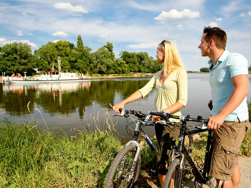 Interner Link: Tours along the Elberadweg