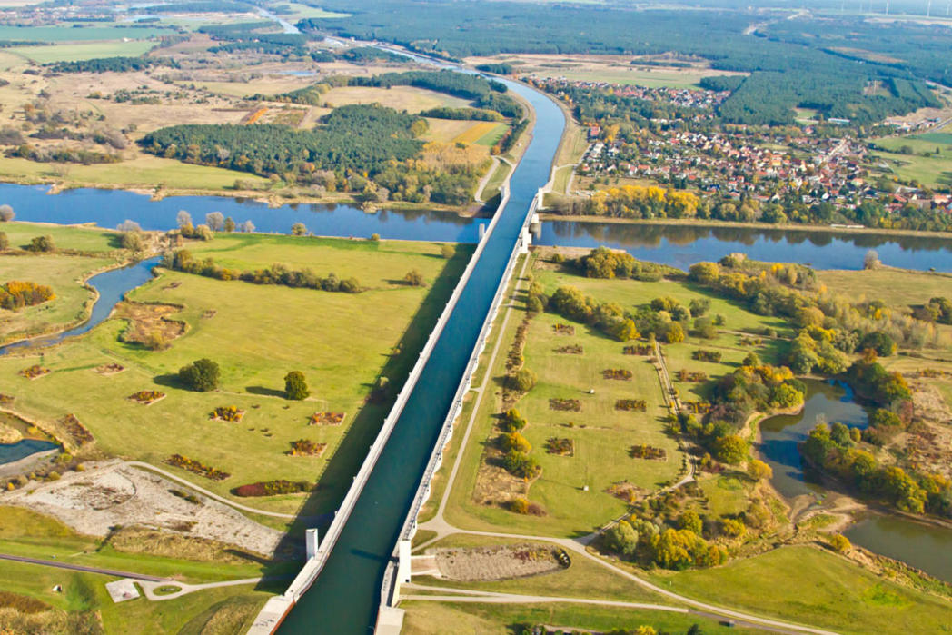 Interner Link: Führung Wasserstraßenkreuz und Schiffshebewerk