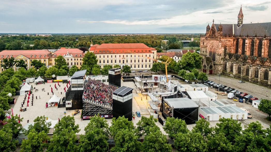Domplatz Open Air ©Theater Magdeburg